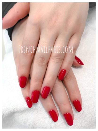 Beauté des mains avec vernis permanent