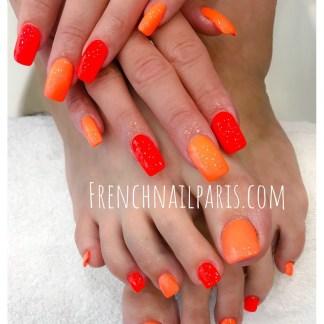 Beauté des mains et pieds avec vernis permanent