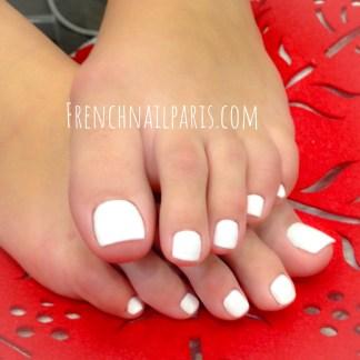 Remplissage résine pieds avec vernis permanent