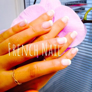 Pose vernis french mains