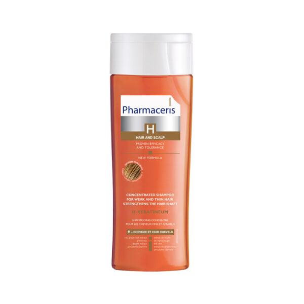 H-Keratineum- Koncentreret styrkende shampoo til svækket hår