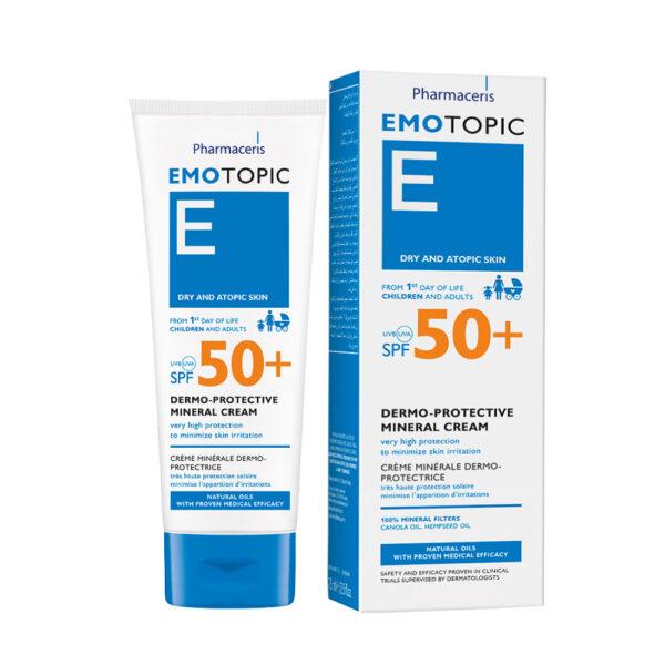 Emotopic Derma Protective Mineral Cream SPF50+