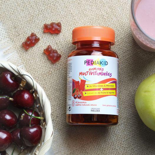 Pediakid- kosttilskud til børn i form af gummier