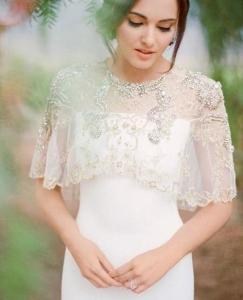 cape mariée - choisir robe de mariée