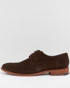 Chaussures derby en daim marron - à partir de 122,99€ -
