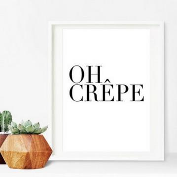 affiche food lover - Idées cadeaux de Noël à petits prix