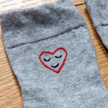 Chaussette unisexe - idées cadeaux saint valentin