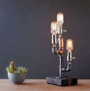 Lampe industrielle - idées cadeaux saint valentin