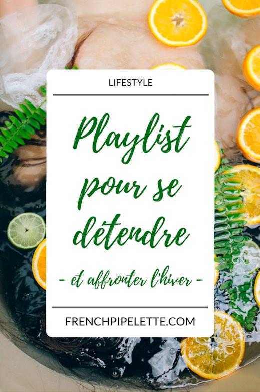 Playlist pour se détendre