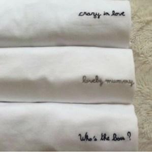 Tee-shirt personnalisé - idées cadeaux saint valentin
