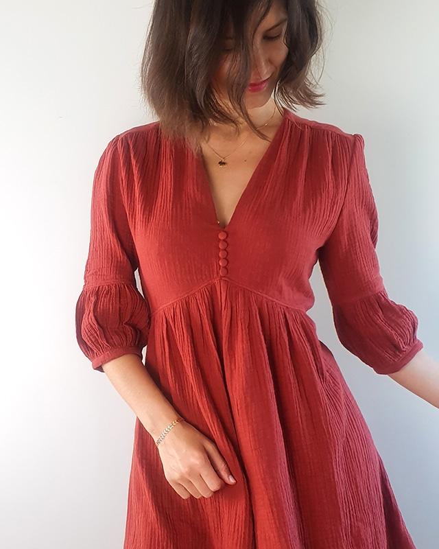 French Sewing Patterns : french, sewing, patterns, French, Poetry, Pleiades, Dress, Sewing, Pattern