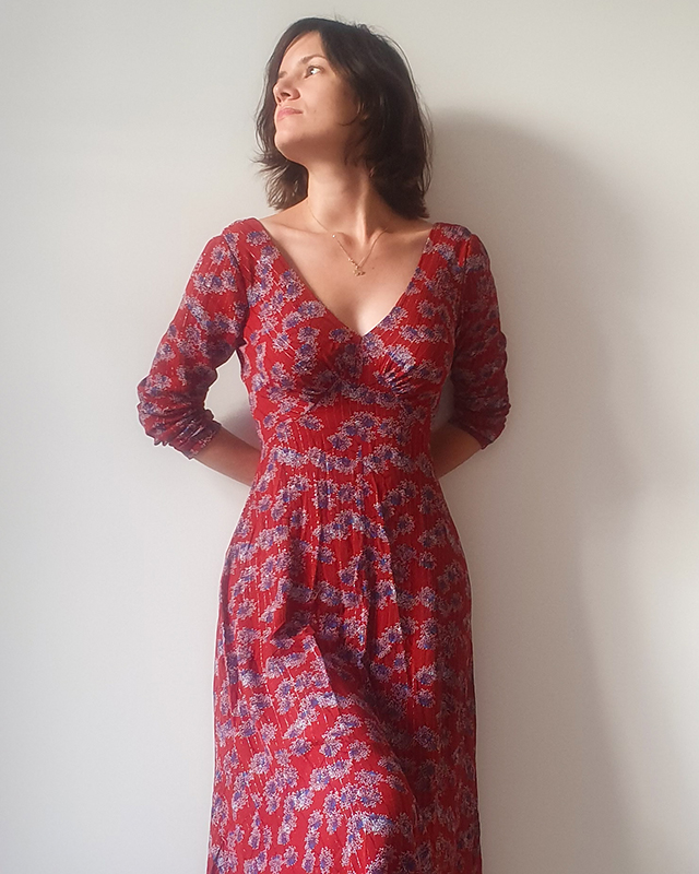 French Sewing Patterns : french, sewing, patterns, French, Poetry, Dress, Sewing, Pattern