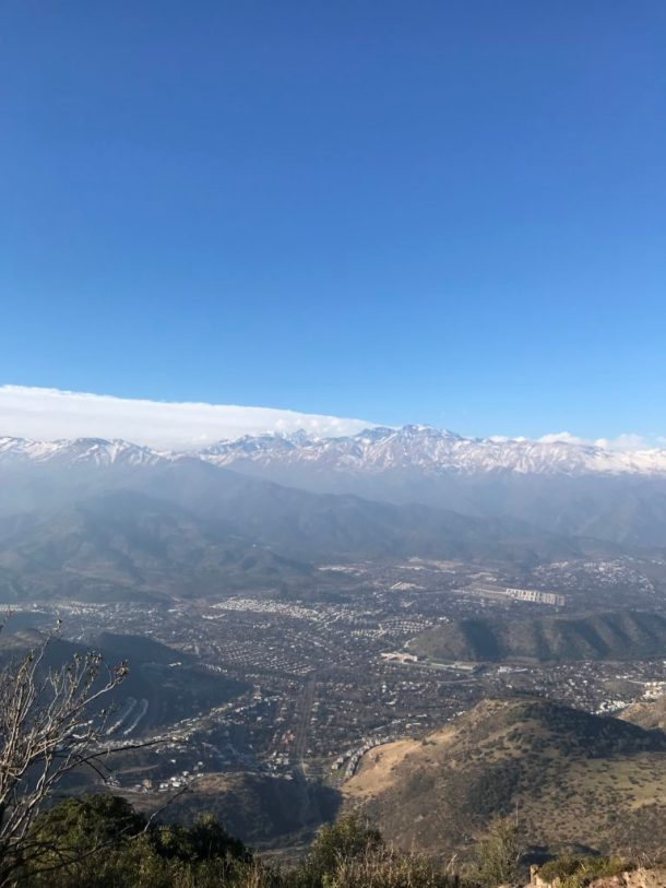 Cerro Manquehue Day Hike in Santiago, Chile View