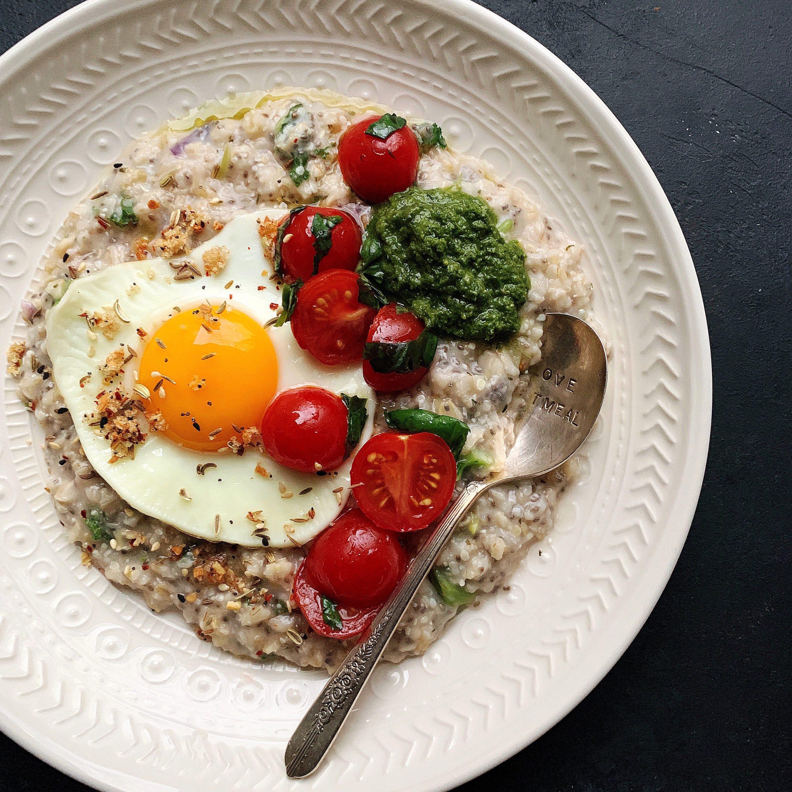savory oatmeal bowls microwave friendly