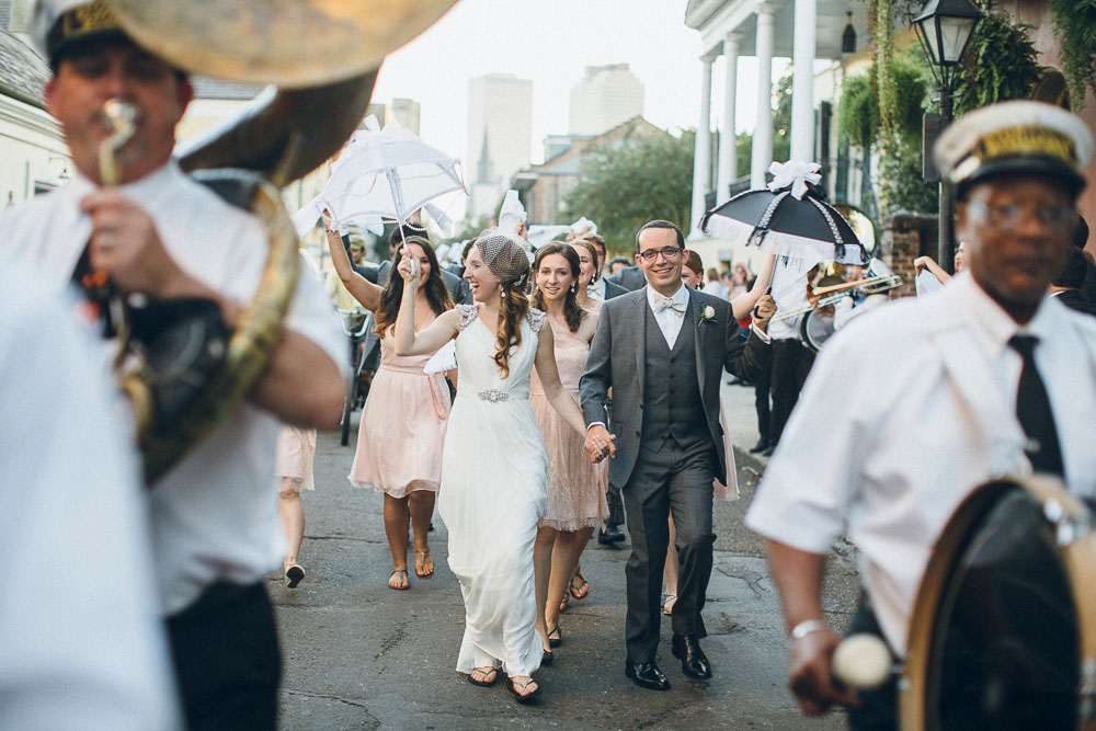 048 New Orleans Wedding Second Line 2