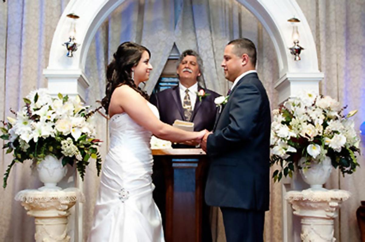 French Quarter Wedding Chapel Alter