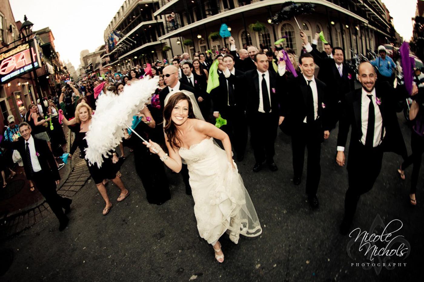 Second Line Wedding