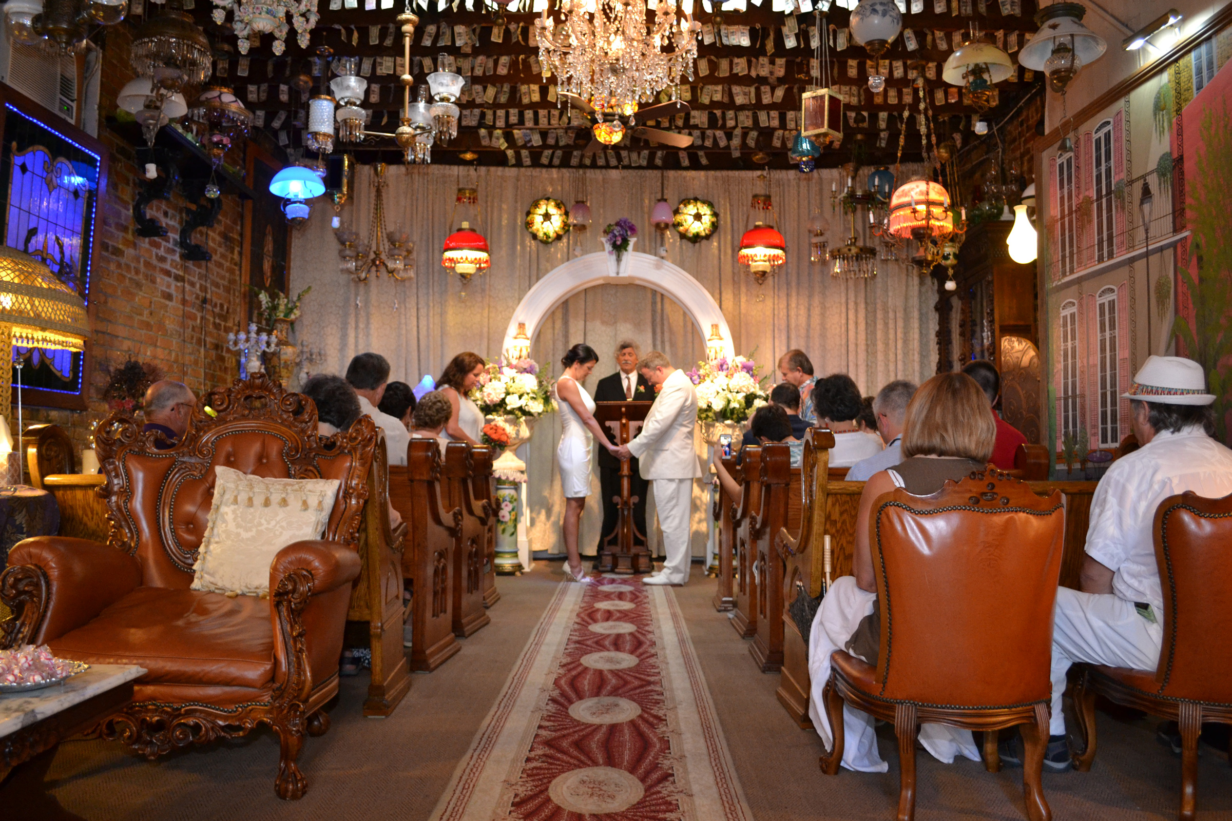 French Quarter Wedding Chapel Alter