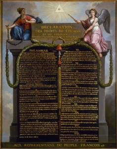 Adoption of the Declaration of the Rights of Man and Citizen