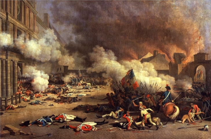 Attack on the Tuileries Castle