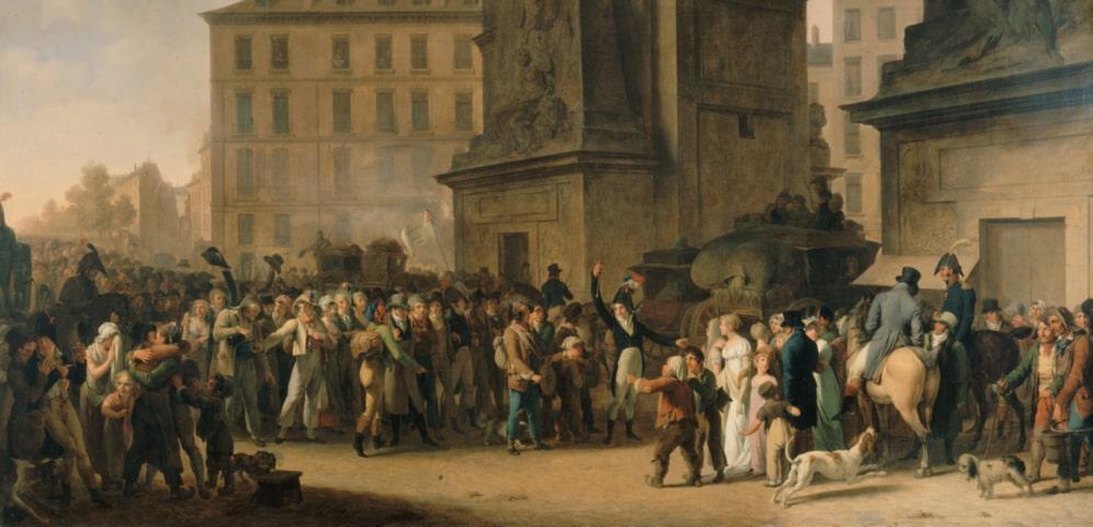 Decree of Levée en masse.