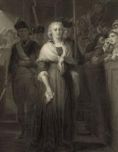 Marie Antoinette was tried and guillotined