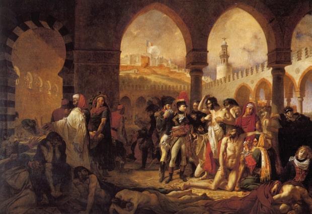 Bonaparte captures Jaffa in Palestine