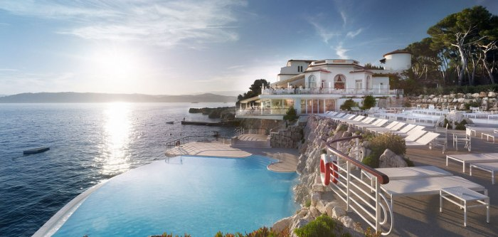 Hotel du Cap-Eden-Roc on the Cap d'Antibes