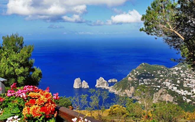 The Island of Capri in Italy