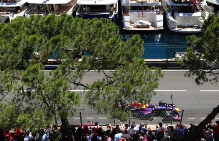 Yachts at Monaco Grand Prix