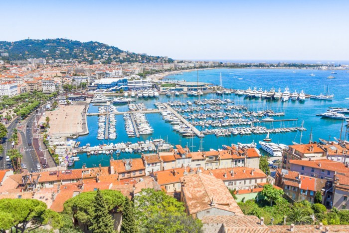 View of Cannes, France