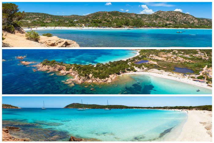 Stunning beaches on the island of Corsica