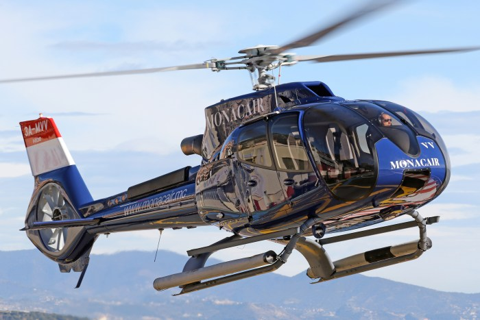 Monacair helicopter transfers from Nice to Cannes and Monaco