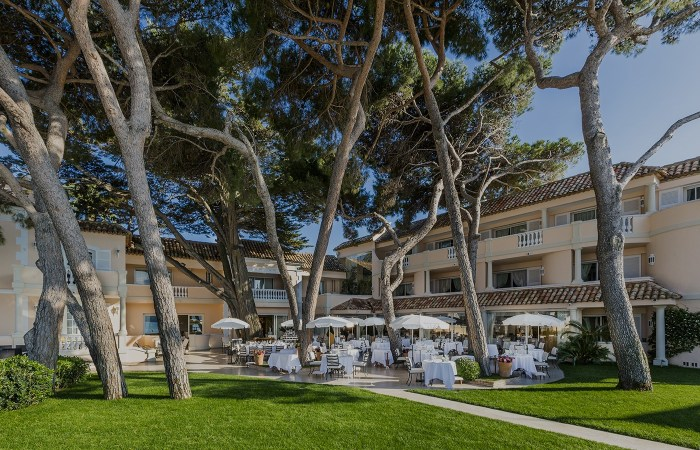 Restaurant La Vague d'Or in St Tropez