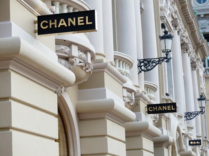 Chanel store in Monte-Carlo, Monaco