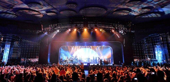 The Salle des Etoiles concert venue in Monaco