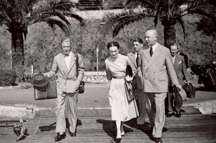 The Duke of Windsor in Cap d'Antibes, France