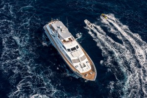 Motor yacht ANTISAN with toys