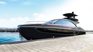 Lexus and Marquis-Larson Boat Group LY 650 yacht