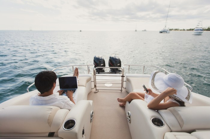 Technology on yachts