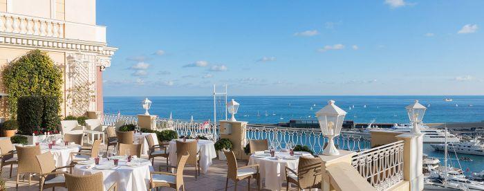 Le Vistamar Restaurant in Monte-Carlo, Monaco