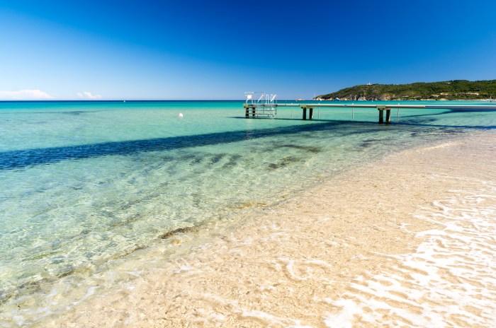 Pampelonne Beach near St Tropez, French Riviera