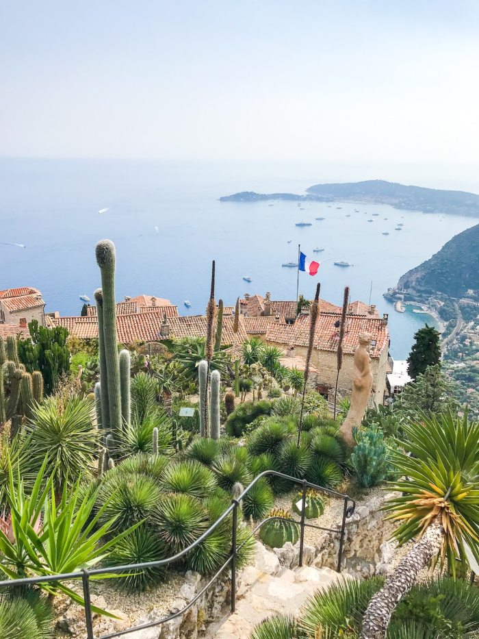 The village of Eze on the French Riviera in September
