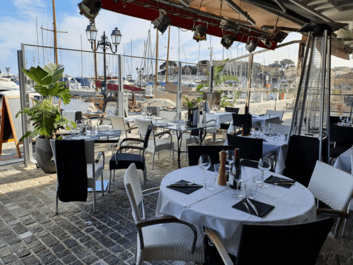 Restaurant La Goelette on Cap Ferrat