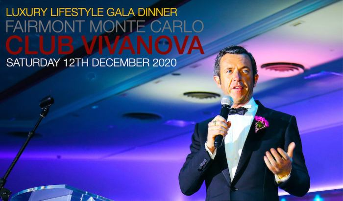 Club Vivanova Gala Dinner 2020 in Monaco