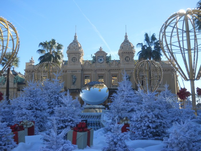 Monte-Carlo Casino at Christmas