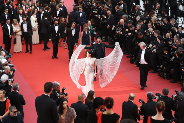 Stars at the Cannes Film Festival on the French Riviera