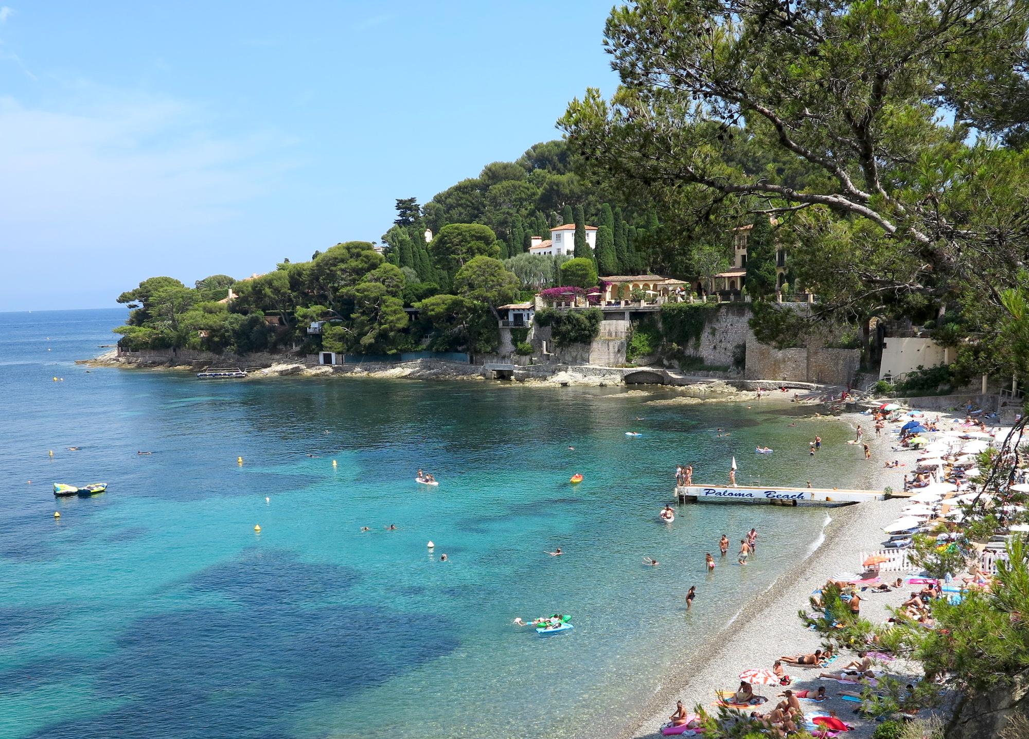 Paloma Beach  French Riviera Luxury