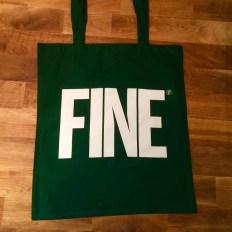 Partyfine Green Tote Bag