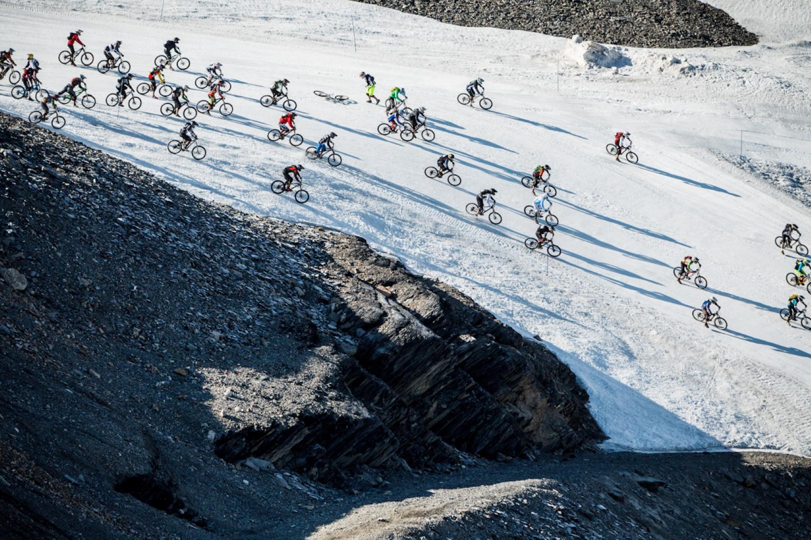 Glacier Biking